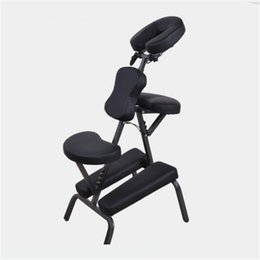 Wholesale Black Chair Legs - Tattoo Rest 1pcs Black Folding Multi-Function Tattoo Chair TATTOO Arm Leg Rest Fully Adjustable Studio Chair Massage Armchair