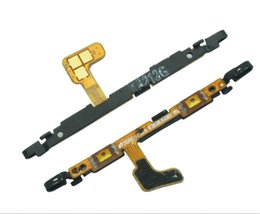 Wholesale Galaxy Volume Button - Volume Control on off Button Key Flex Cable For Samsung Galaxy S6 Edge G925 G9250 top quality
