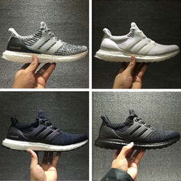 Wholesale Denim Casual Sneakers - Casual Shoes 2017 Consortium Ultra Boost 3.0 UNCAGED Sneakers Men's and women's Breathable Running Shoes