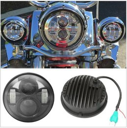 """Wholesale Road Glide Led - New Arrival 5.75"""" Daymaker Road Glide LED Headlamp for Harley led headlight High Low Bulbs Motorcycle led Headlights"""