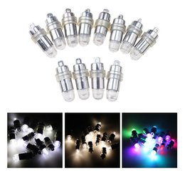 Wholesale Vases For Centerpieces - 30 Pcs Lot White RGB Led Lamps Waterproof Balloon Lights for Paper Lantern Party Wedding Centerpieces Decoration Vases 2016 New