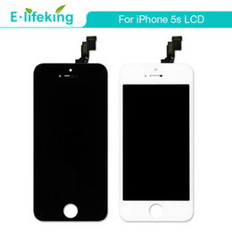 Wholesale Iphone Digitizer Pcs - 20 PCS Display Assembly For iPhone 5 5S 5C Touch Screen Digitizer Complete Replacement With Free DHL Shipping