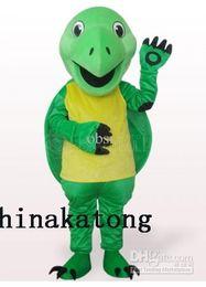 Wholesale Tortoise Mascot Costume - Green Tortoise Plush Adult Mascot Costume Costume cartoon animal character costume