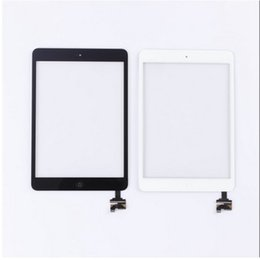 Wholesale Capacitive Touch Ic - for ipad mini1 Touch Screen Glass with IC home button adhesive mini 2 Touch Screen Digitizer Assembly Replacement Part touch screen