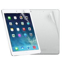 Wholesale Ipad Lcd Wholesale Price - Wholesale-Best Price Front And Back Clear Film LCD Screen Protection For Ipad 5 6 Air 1 2