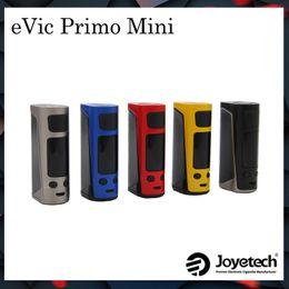 Wholesale E Cigarette Power - Authentic Joyetech Evic Primo Mini Battery Kit Box Mods Vape 80W Power 2A Quick Charger TC VW E Cigarette Match ProCore Aries Atomizer