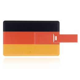 Wholesale Usb 1g - HanDisk U Disk Card series GER National Flag Flash Drive 32gb 64gb 128gb 16gb 8gb 4gb 2gb 1g Usb Pen Drive EU095