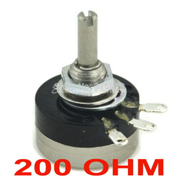 Wholesale Control Potentiometer - Wholesale- RV16YN 15S B201 COSMOS TOCOS 200 OHM Industrial Panel Controls Rotary Potentiometer.