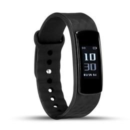 Wholesale I3 Wholesale - i3 Smart Band Smart Bracelet Wristbands Heart Rate Monitor Bluetooth Smartbracelet Fitness Tracker Pedometer Sleep Monitor Android iOS