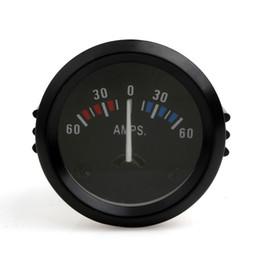 Wholesale car volt meters - Universal 2 Inch 52mm Car Ammeter Voltmeter 60-0-60 AMP Gauge Volt Meter for Boat Truck ATV AMP Meter Auto Gauge CEC_542