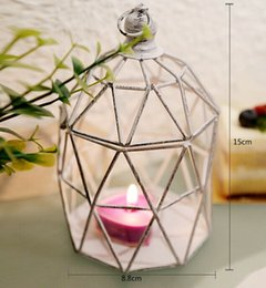 Wholesale Metal Lantern Centerpieces - Free shipping Bird Cage Candle Holder Metal Lantern Centerpieces for Christmas Decoration Candlestick Favor Vintage LLFA