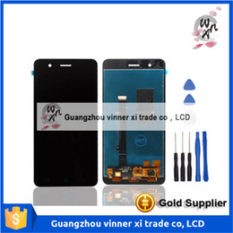 Wholesale Chinese Replacement Phone Screens - For ZTE Blade A510 LCD Display+Touch Screen Original Screen Digitizer Assembly Replacement For ZTE Blade A510 Cell Phone+Tools