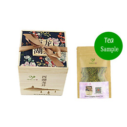 Wholesale Green Lake - Tea Sample for Try 2016 New Te Longjing Green tea  West Lake Dragon Well  Chinese xi hu longjing tea dragon Slimming tea 25g