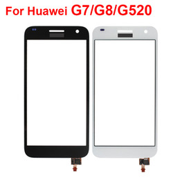 Wholesale G7 G8 - Touch Screen Digitizer For Huawei G7   G8   G520 Touch Screen Front Outer Glass Lens Panels Replacement