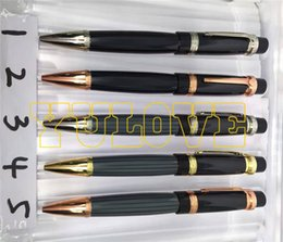 Wholesale Refill Point - Wholesale and Retail Luxury Brand Limited Edition Series Ball Point Pen Roller Ball Pen Best Quality Stationary 0.7mm Black Blue Refill