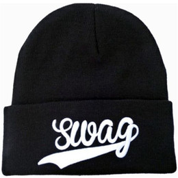 Wholesale Swag Beanie Caps - Good Quality Men Swag Beanie Fashion Hip Hop Knitted Beanies Snapback Hats Caps Women Streetwear Hat Cap DHL Free Shipping