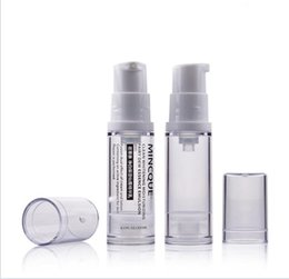 Wholesale Fast Screen Printing - Fast delivery 5ml Travel Lotion Bottles Container Clear Spray Bottle Makeup vacuum lotion Refillable Bottles Made in China
