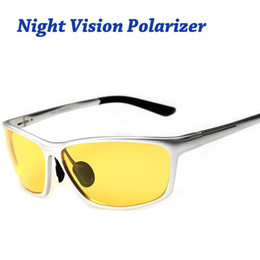 8cd393c1d4c Night Vision Glasses For Headlight Polarized Driving Sunglasses Yellow Lens  UV400 protection Night Eyewear for Drivers