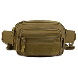 Wholesale Waist Bag Free Shipping - Wholesale Men Outdoors Tactical Waist Bag Military Equipment Waist Bag Waterproof Leg Bag Waist Packs Free Shipping