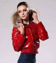 Wholesale Good Jacket Brands - 2017 brand New Goose down jackets GOOD Big Real Fur Collar down parkas Women Winter Coat good Quality #380