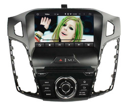 Wholesale Dvd Gps Hd - Fit for FORD focus 2012-2014 Android 5.1.1 OS 1024*600 HD car dvd player gps radio 3G wifi bluetooth dvr OBD2 FREE MAP CAMERA with canbus