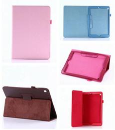 держатель для планшетов Скидка Для нового Ipad Pro 10.5 дюймов Tablet Leechee PU кошелек кожаный личи чехол стенд чехол держатель кожи обложка роскошные красочные 100 шт.