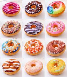 Argentina Regalo de navidad donut Hamburguesa Cojín Emoji cojines decorativos lindos juguetes de peluche donut Cojín para niña 10 unid b06 Suministro