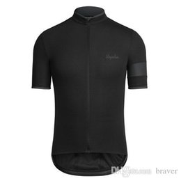 Wholesale Comfortable Clothing - 2016 Cheep Rapha Cycling Jerseys Short Sleeves Cycling Clothes Bike Wear Comfortable Anti Pilling Hot New Rapha Jerseys 8 Colors