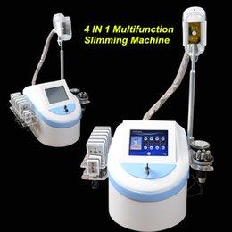 Wholesale Mini Cavitation Slimming Machine - 2017 Mini Portable Home Use Fat Freezing Machine Lipo laser Slimming Machine cavitation Body Shape rf skin tightening DHL Free Shipping