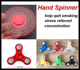 Wholesale Patterns Puzzles - Tri-Spinner Fidget Spinner Plastic Hand Spinner Puzzle Anti Stress For Autism Adhd Kids Audult Outdoor Toys simplest pattern