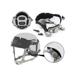 Шлем аксессуар OPS-CORE тактический быстрый шлем блокировки головы Cingulate висит система набора лайнера блокировки ремень системы от Поставщики ремни для шлема