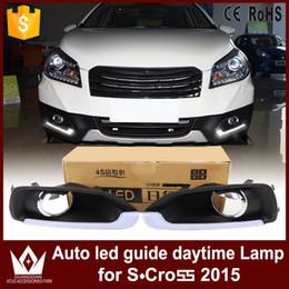 Wholesale Daylight Kit - GuangDian 1 Set New Car Flashing LED DRL Daytime Running Light Daylight Kit Waterproof For Suzuki S-Cross S cross 2014 2015 2016
