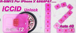 Wholesale Unlocked Softbank - original R sim 12 rsim12 rsim sim12 sprint AU softbank ios 11.1 ios11 ios 10.x ICCID perfect Unlocking for iPhoneX,iphone 8,8PLUS 7,7plus 4G