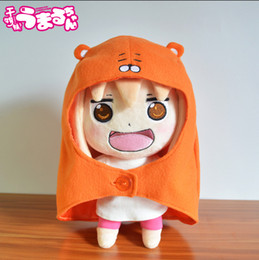 Wholesale Chan Wholesale - Wholesale-Anime Sankaku Head Himouto! Umaru-chan Umaru Doma Figures Soft Plush Doll toy Children's gifts Free Shipping