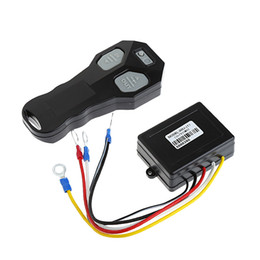 Wholesale Remote Control Jeeps - Wholesale- Wireless DC 12V Remote Control Winch Kit For Bulldog Jeep ATV SUV Offroad