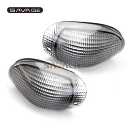 Wholesale R C Lights - For KAWASAKI ZZ-R 1100 ZZR1100 C ZX1100 NINJA 1990-1992 Motorcycle Accessories Front Turn Signal Indicator Light Lamp Lens