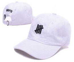 Wholesale Straps For Hats - Undefeated baseball caps casual bone gorras dad hat strap back 6 panel cotton hip hop cap hat for men