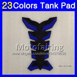 Wholesale Bmw Rr - 23Colors 3D Carbon Fiber Gas Tank Pad Protector For BMW S1000R S1000RR 09 10 11 12 13 14 S1000 RR 2009 2010 2011 13 2014 3D Tank Cap Sticker
