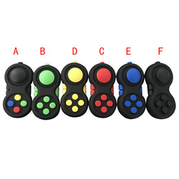 Nouveaux contrôleurs de jeu Magic Fidget Pad Cube Gamepad Enfants Bureau Jouet Adultes Soulagement du stress TDAH Enfants Décompression Jouet Jouets ? partir de fabricateur