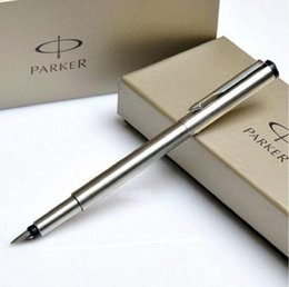 Wholesale Good Financing - Free Shipping Parker Brand Good Quality Fountain Pen Business Executive Office Writing Pen Nice Box Packing