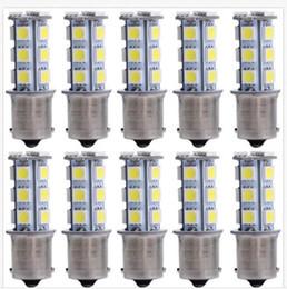Wholesale 1157 Blue Led Lights - 100PCS 1156 1157 18SMD P21W LED Brake Tail Turn light Signal Light Bulb Rear Lamp wholesale