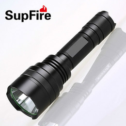Wholesale Super Bright Flashlight Lumens - Waterproof Rechargeable LED Flashlight CREE T6 High Quality Super Bright 1100 Lumens 5 Modes Outdoor Sports Daily Using Torch High Power NEW