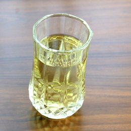 Wholesale Octagonal Crystal - glass Diamonds Beer Cups Transparent Whiskey Cups Transparent Crystal Whiskeys spirits junice eight glass Octagonal cup
