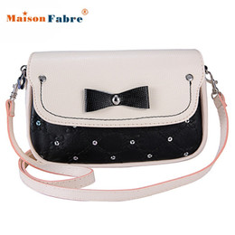 Wholesale Messenger Bag Minimalist - Wholesale-Attractive 2016 HOT !!! Fashion Shoulder Messenger Lingge Minimalist Fashion Bag Free Shipping J6