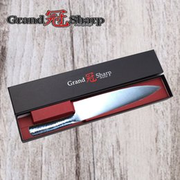 """Wholesale German Steel Kitchen Knives - GRANDSHARP 8"""" inch Chef Knife German High Carbon Stainless Steel 1.4116 Kitchen Tool Gift Box Kitchen Knives FREE SHIPPING"""