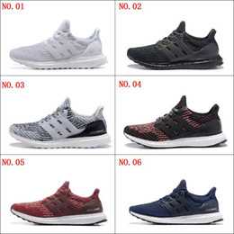 Wholesale Casual Shoes For Mens - Cheap Ultra Boost 3.0 Triple Running Shoes for men women Ultraboost 3 Primeknit Runs Black White Casual Ultrals Boosts mens womens Sneakers