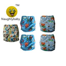 Wholesale Minky Cloth Diaper Covers - 2016 New 50PCS Print Minky Cloth Diapers Reusable Nappy Covers For Babies Diapers Infant Without Inserts Free Shipping