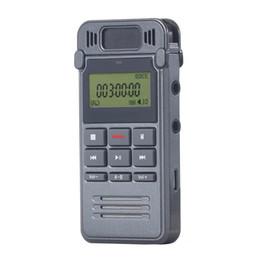 Wholesale vor recording - Wholesale-Professional VOR Digital Voice Activated Voice Recorder 8GB 560hours WAV VOX Audio Recording Dictaphone Pen gravador de voz