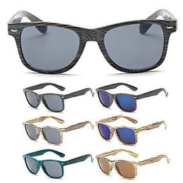 f4ef0c4ff6 Gafas de sol de madera del grano de la vendimia Gafas de sol de las mujeres  de los hombres Grano del clavo del arroz Grano retro masculino femenino  femenino ...