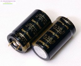 Wholesale Nichicon Audio Capacitors - Bolsa Supercapacitor 2pcs Nichicon For Audio Electrolytic Capacitors Advanced Kg Super Through 2200uf 63v 25*45mm Free Shipping